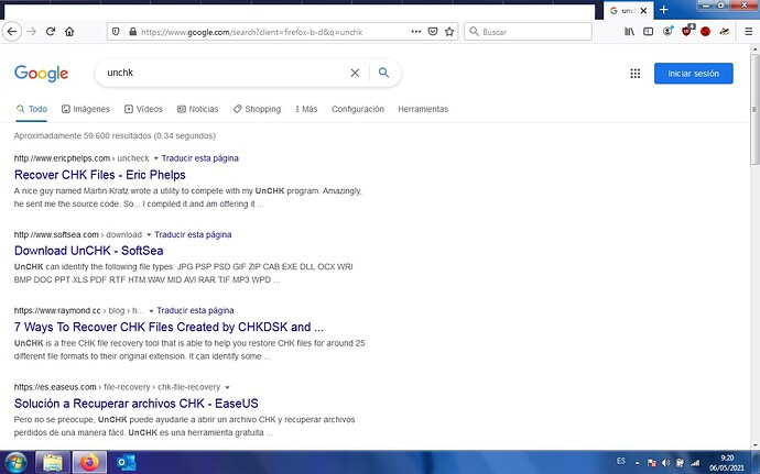 google extraño