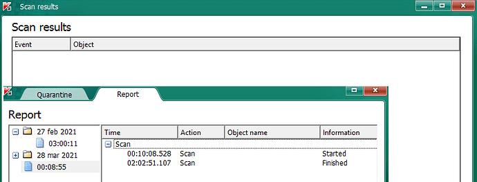 Kasperky virus removal tool