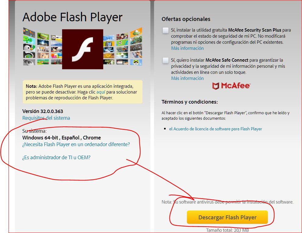 flash ok