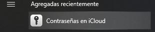 Contraseñas en iCloud~2